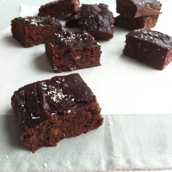 Brownies zwarte bonen