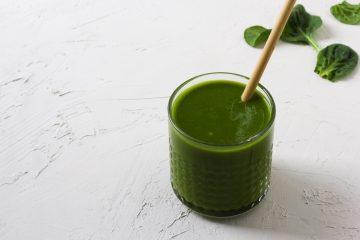 romige groene smoothie