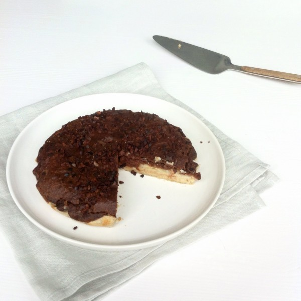 banaan-chocotaart