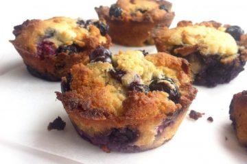 Kokos-citroen muffins