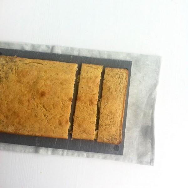 Platbrood van kikkererwtenmeel