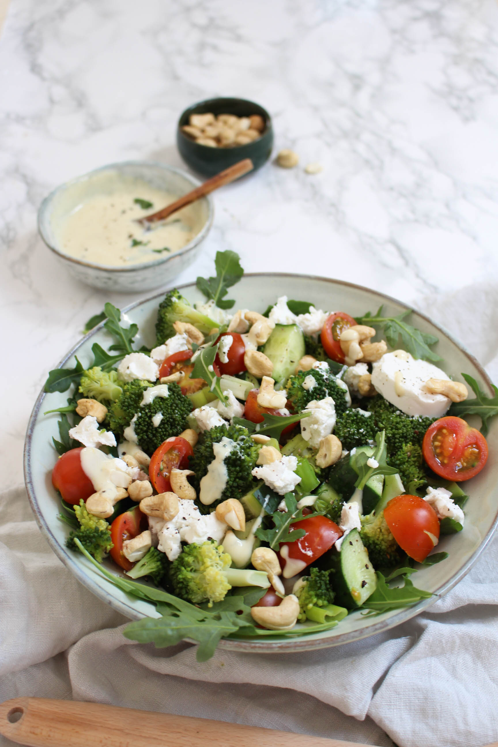 broccoli salade geitenkaas