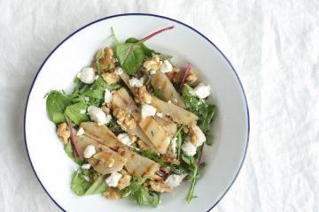 salade gegrilde peer