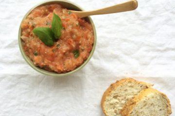 tomaten-basilicum dip