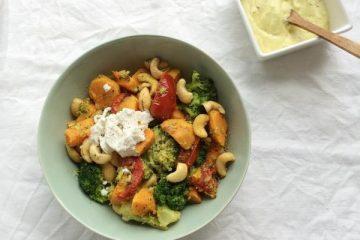 Broccoli-zoeteaardappel