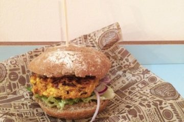 Vegan burger Meneer Smakers