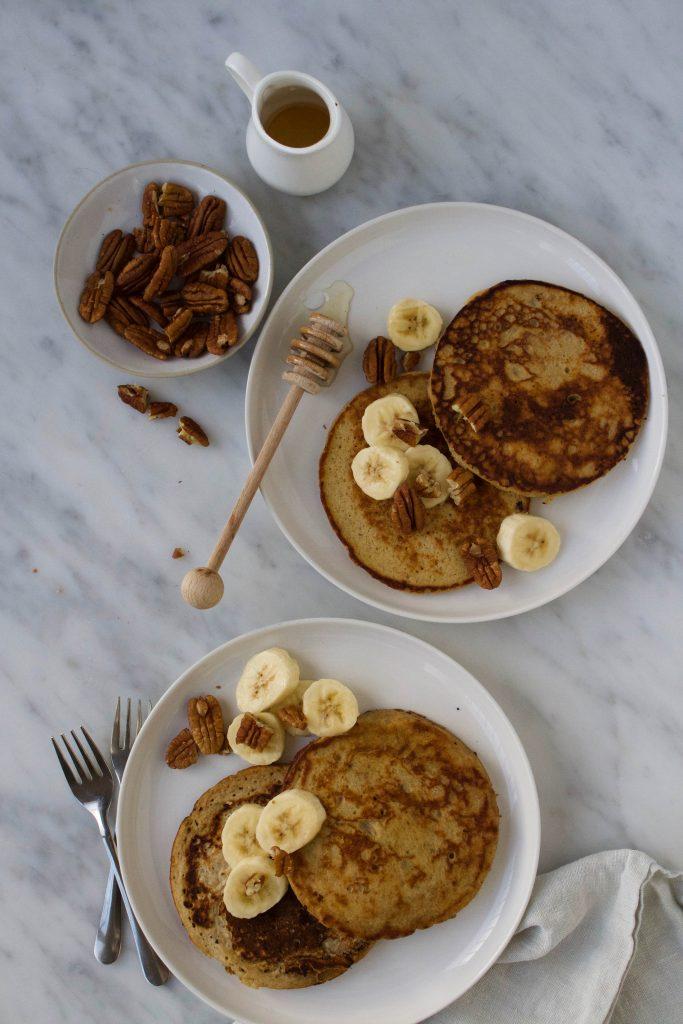 Bananen pannenkoekjes