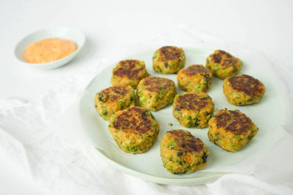 groenteballetjes/burgertjes
