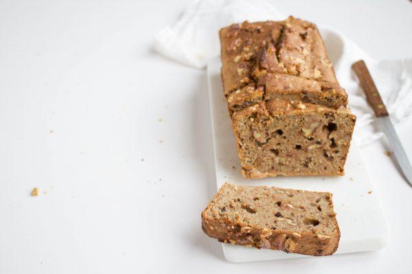 Haver-bananenbrood