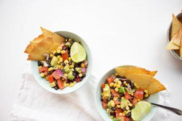 Mexicaanse tortilla salade