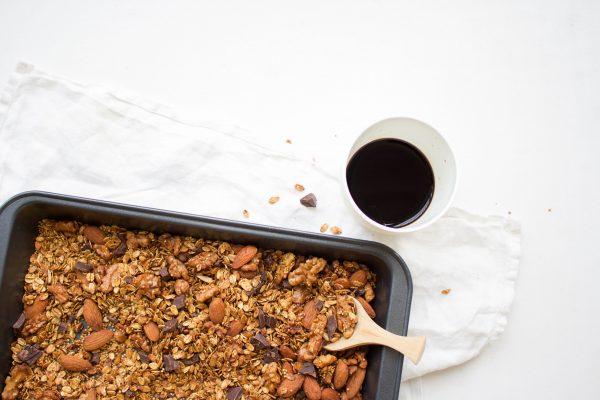 Koffie granola
