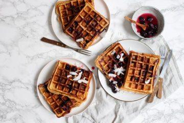 6x ontbijten met gezonde wafels