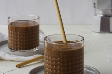 Espresso smoothie