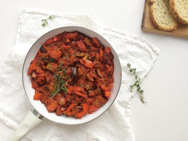 ratatouille aubergine