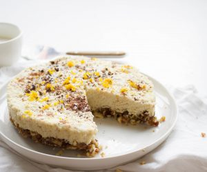 Raw en vegan cheesecake