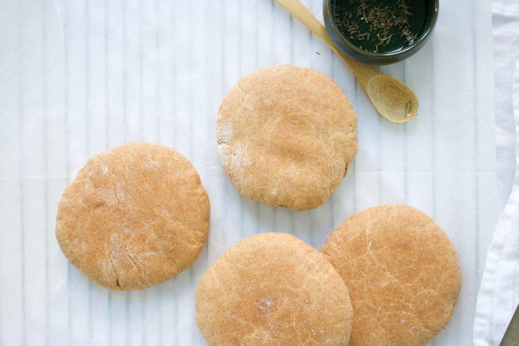 pita broodjes volkoren speltmeel