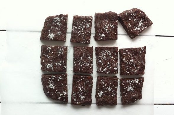 raw chocolade brownies