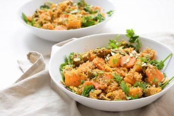 quinoa pompoen