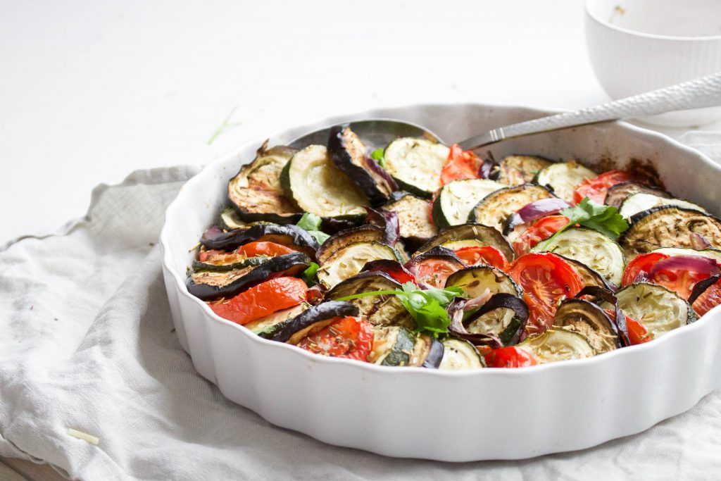 Mediterraanse groenteschotel