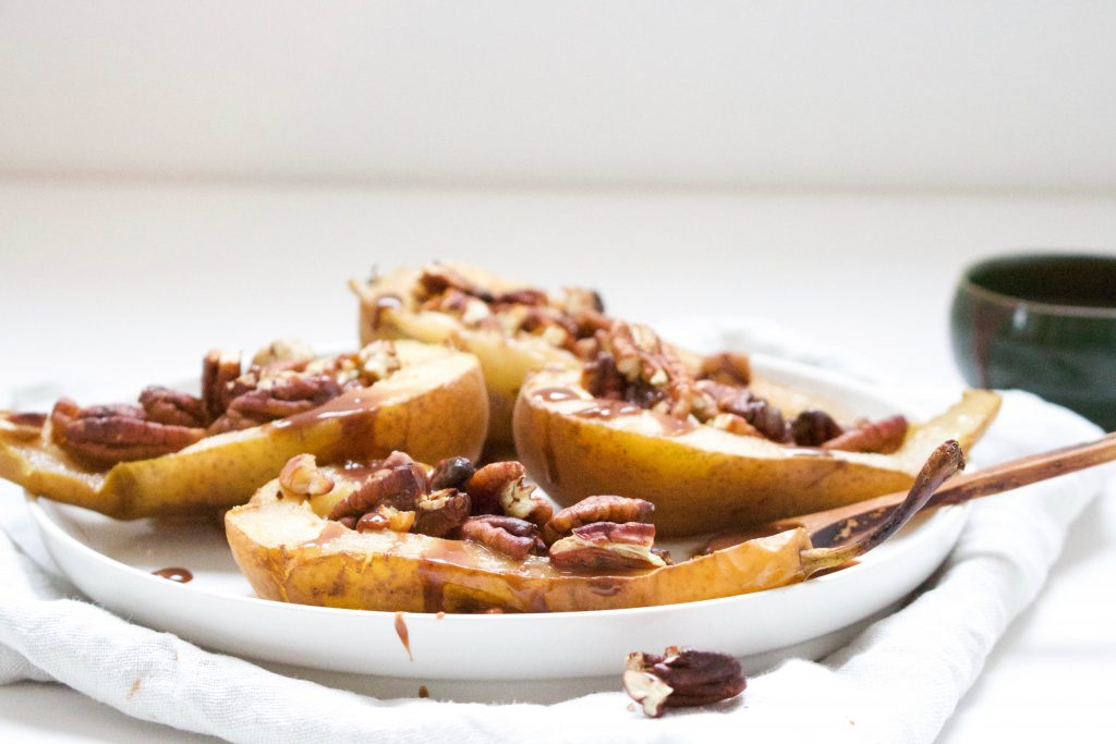 gebakken peer