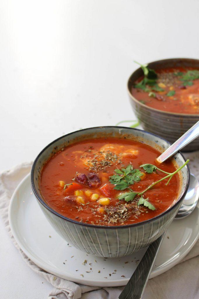 Mexicaanse tomatensoep