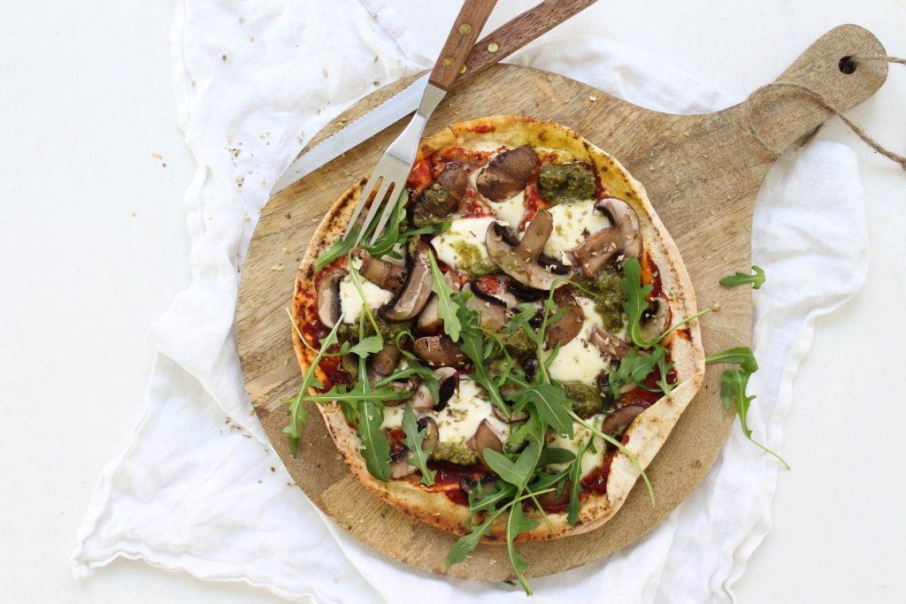 Pizza libanees planbrood