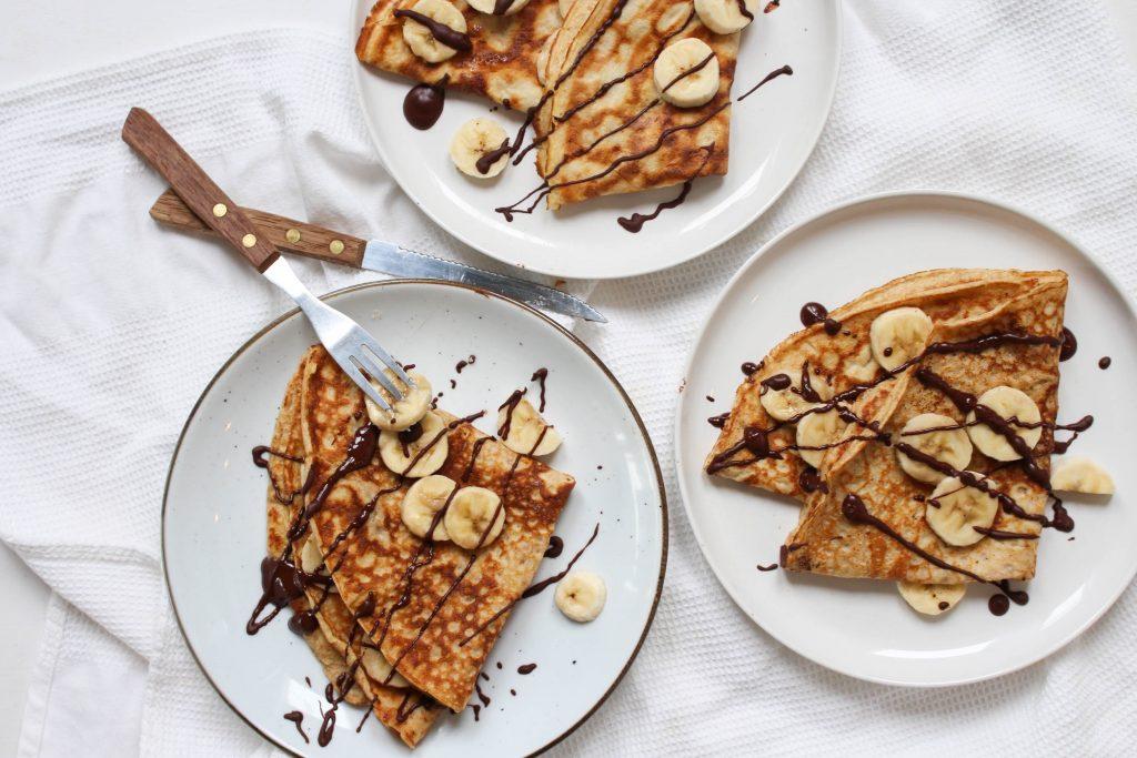 Crêpes banaan chocola