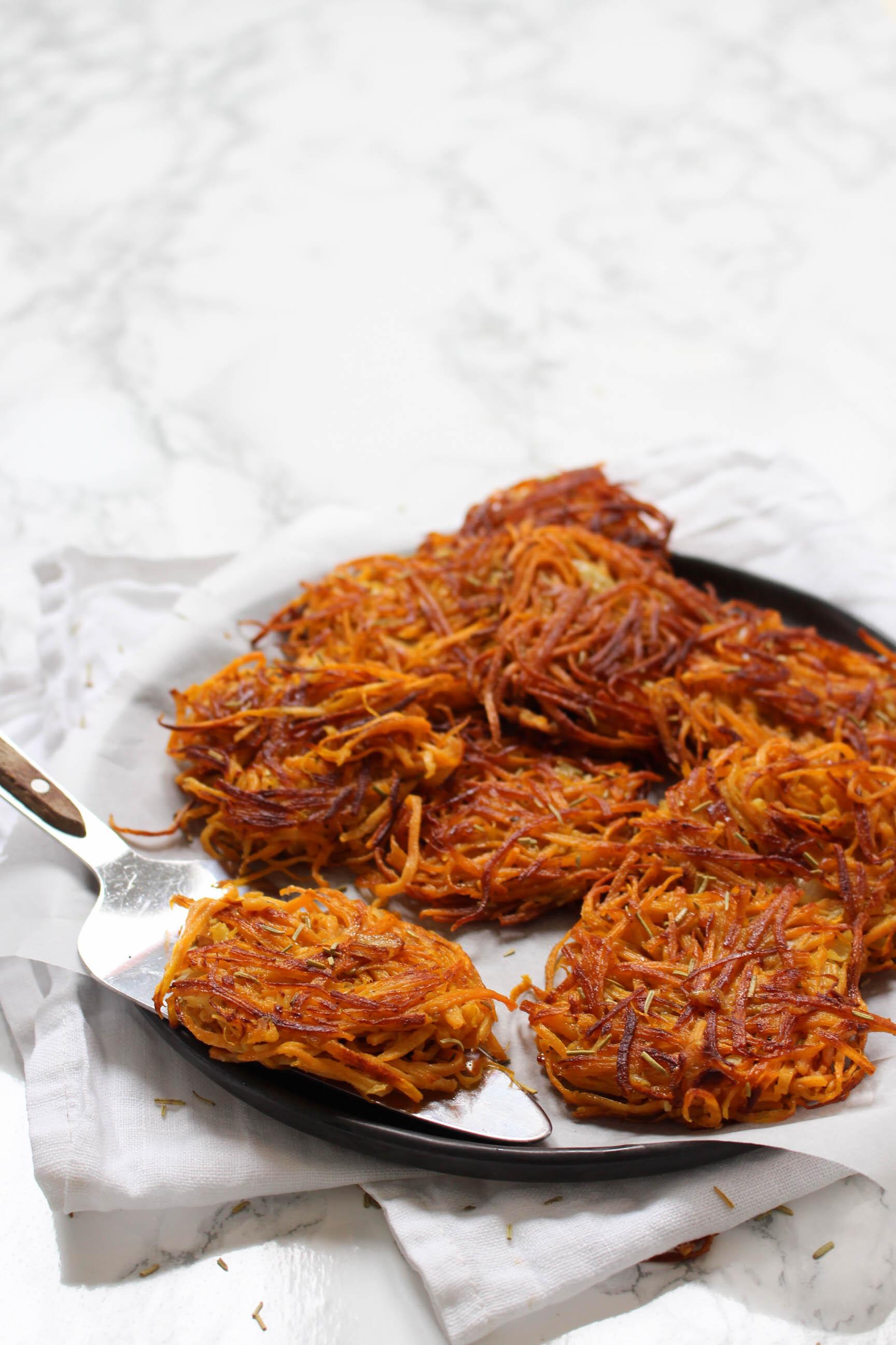 Rösti zoete aardappel