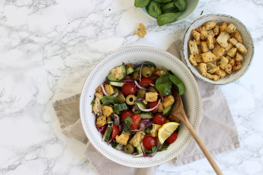 Panzanella brood salade
