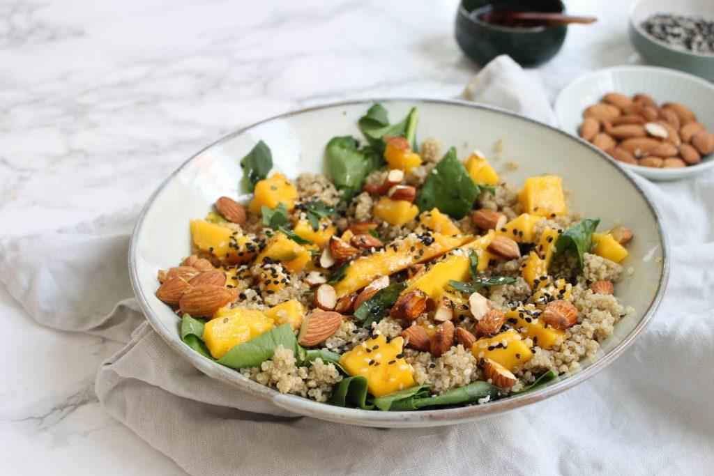 Quinoasalade met mango