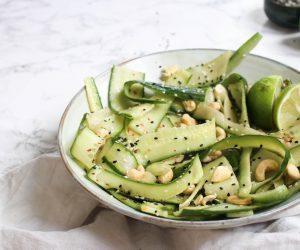 Thaise komkommersalade