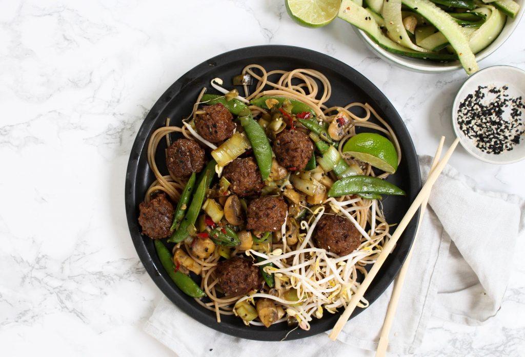 vegetarische beef shangha