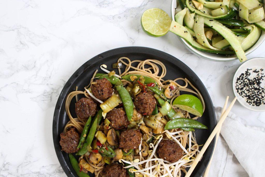 vegetarische beef shanghai