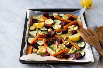 Winterse groenten uit de oven