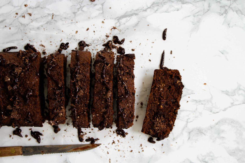 double chocolate cake