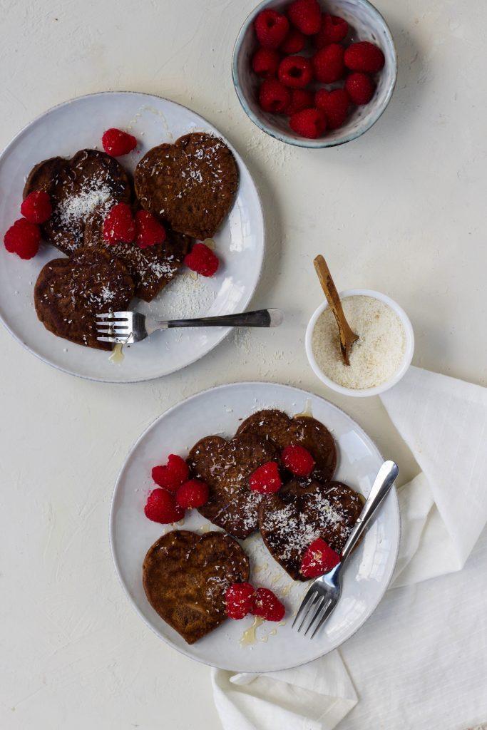 Chocolade pannenkoekjes