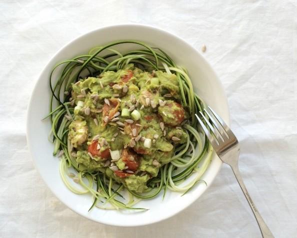 romige avocado saus
