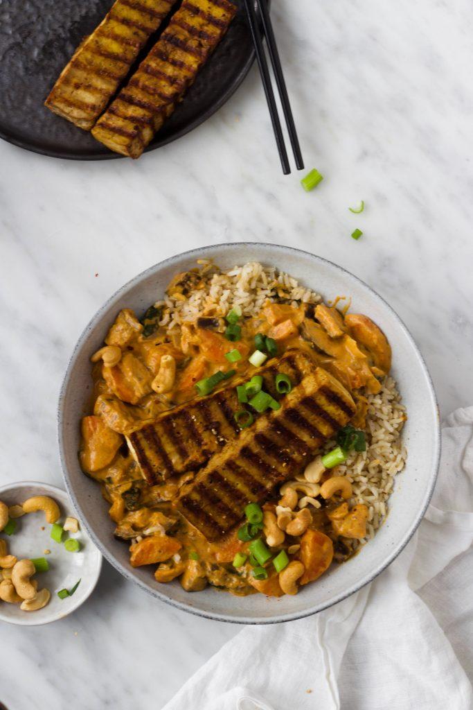 curry tofu steak feelgoodbyfod