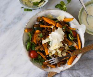 kapsalon gezond vegetarisch