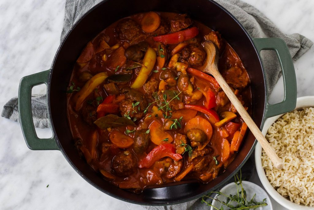 Vegetarische goulash