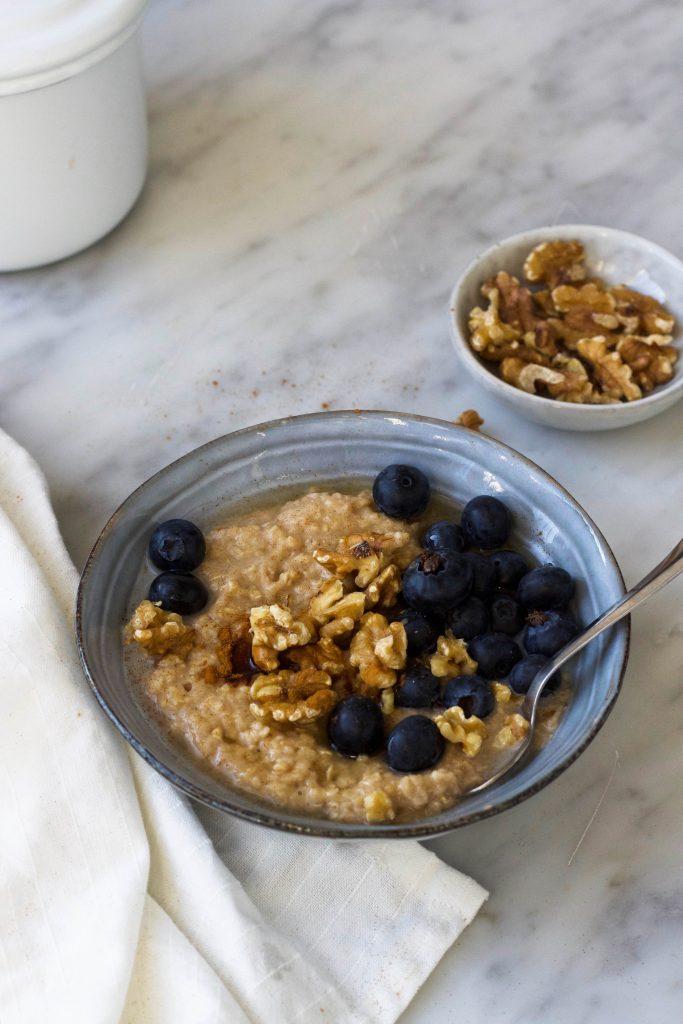 porridge/pap bessen noten