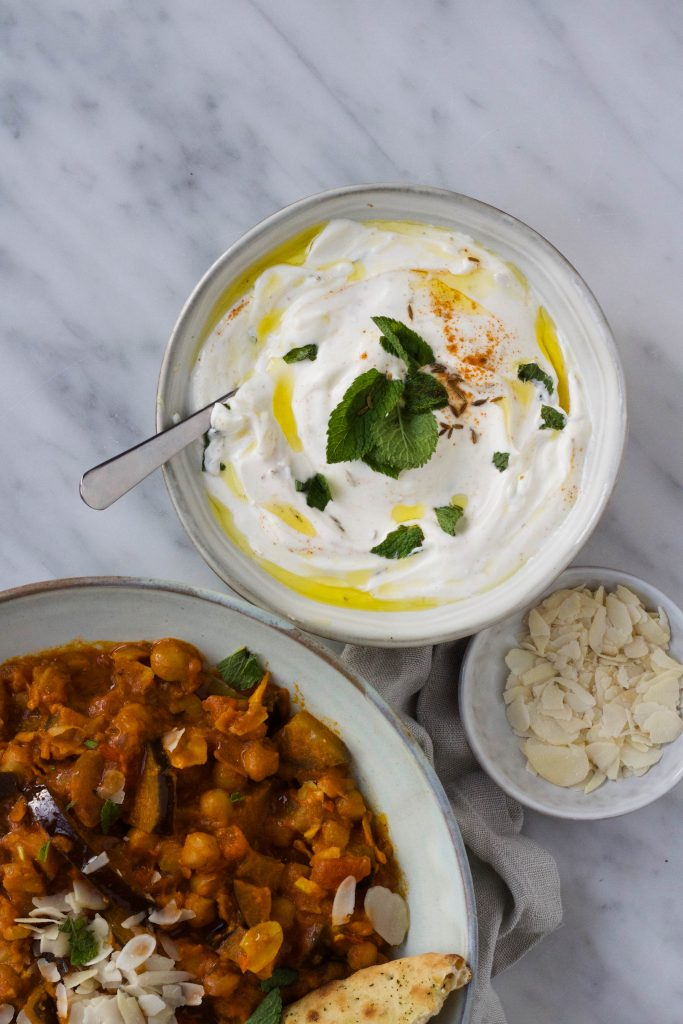 indiase curry raita