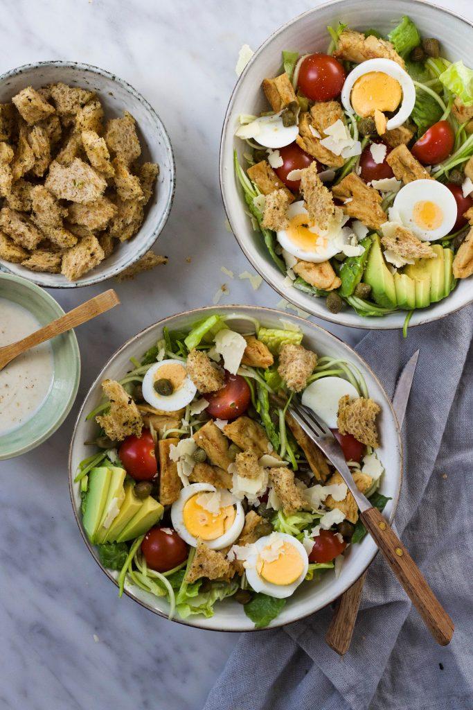 Vega Ceaser salade