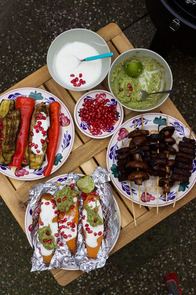 vegetarische bbq gerechten
