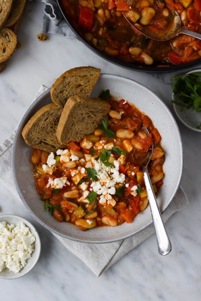 tomaten-bonen stoof