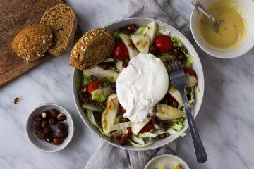 venkel-burrata salade